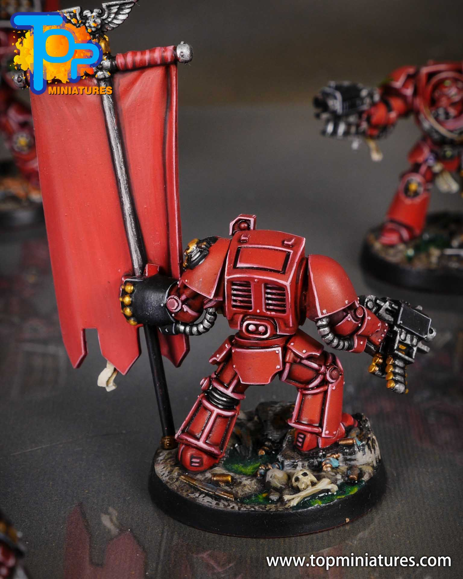 Space Marine Heroes - Blood Angels Terminators (5)