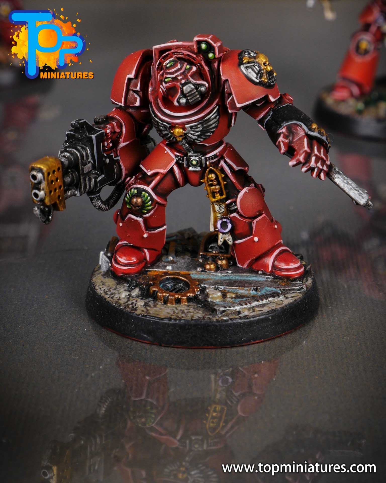 Space Marine Heroes - Blood Angels Terminators (6)