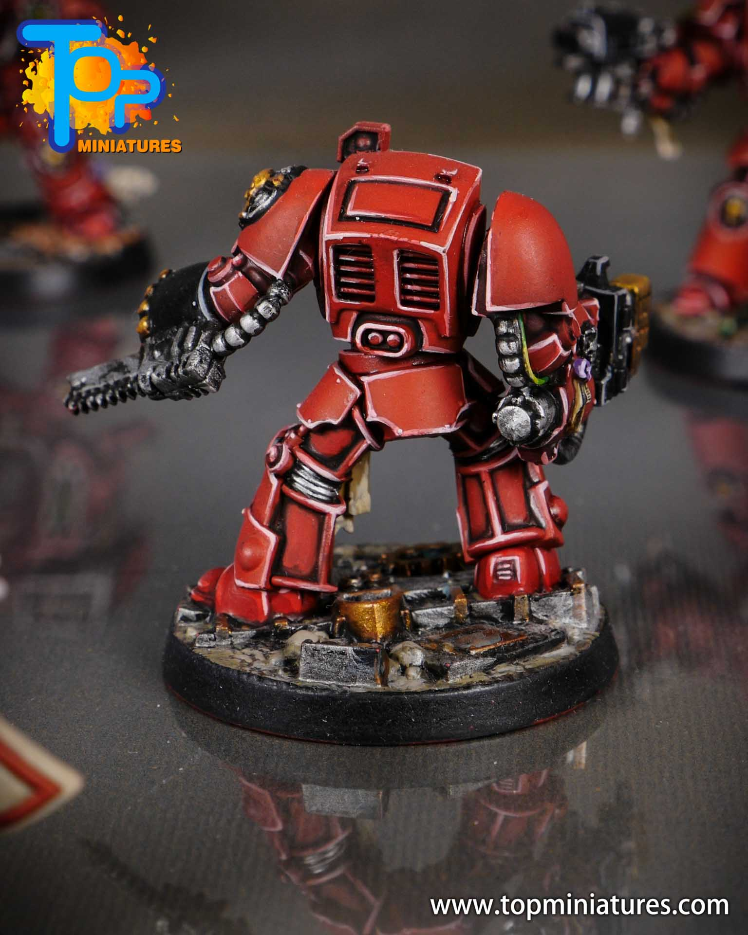 Space Marine Heroes - Blood Angels Terminators (7)