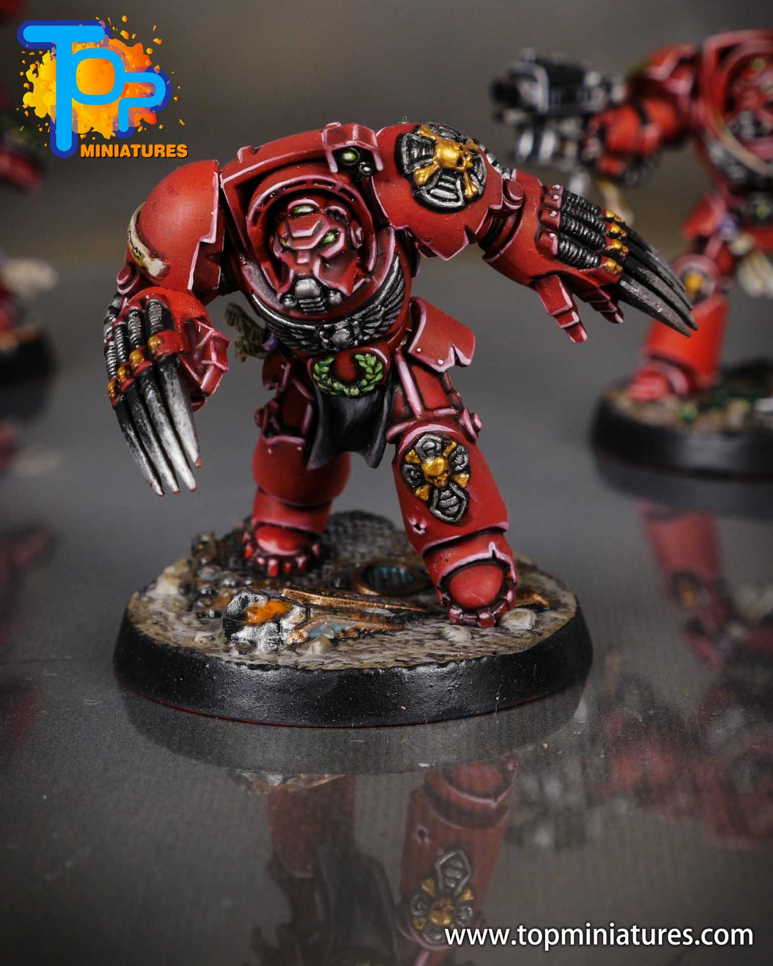 Space Marine Heroes - Blood Angels Terminators (8)