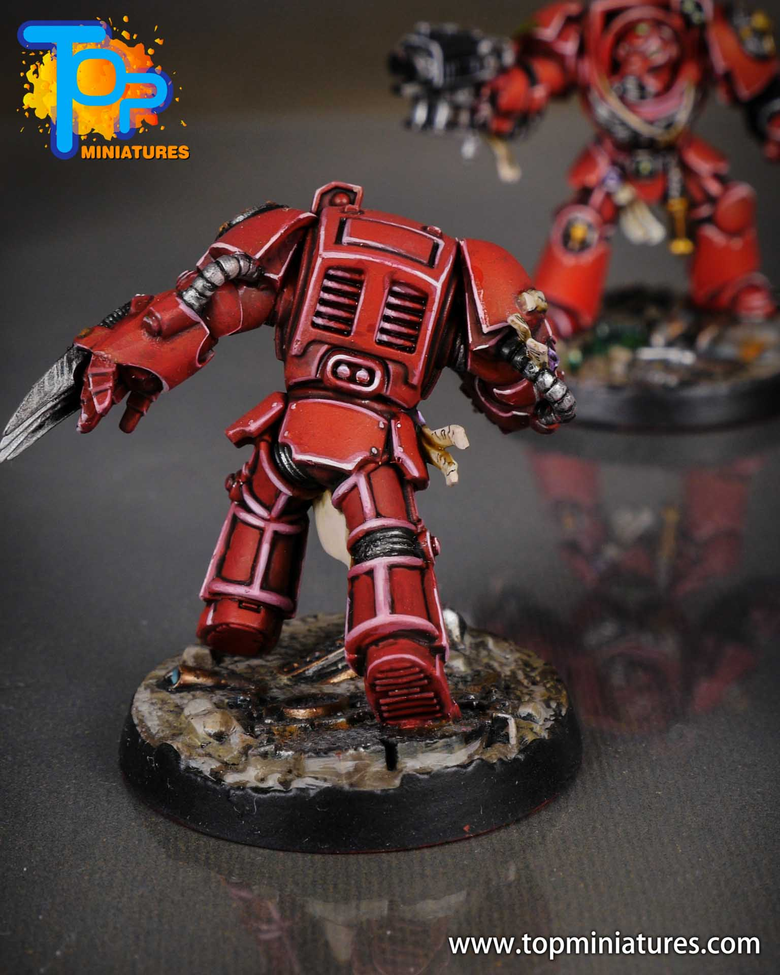 Space Marine Heroes - Blood Angels Terminators (9)