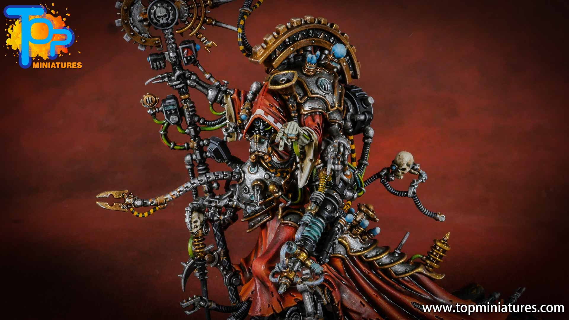 Warhammer Adeptus Mechanicus Belisarius cawl (3)