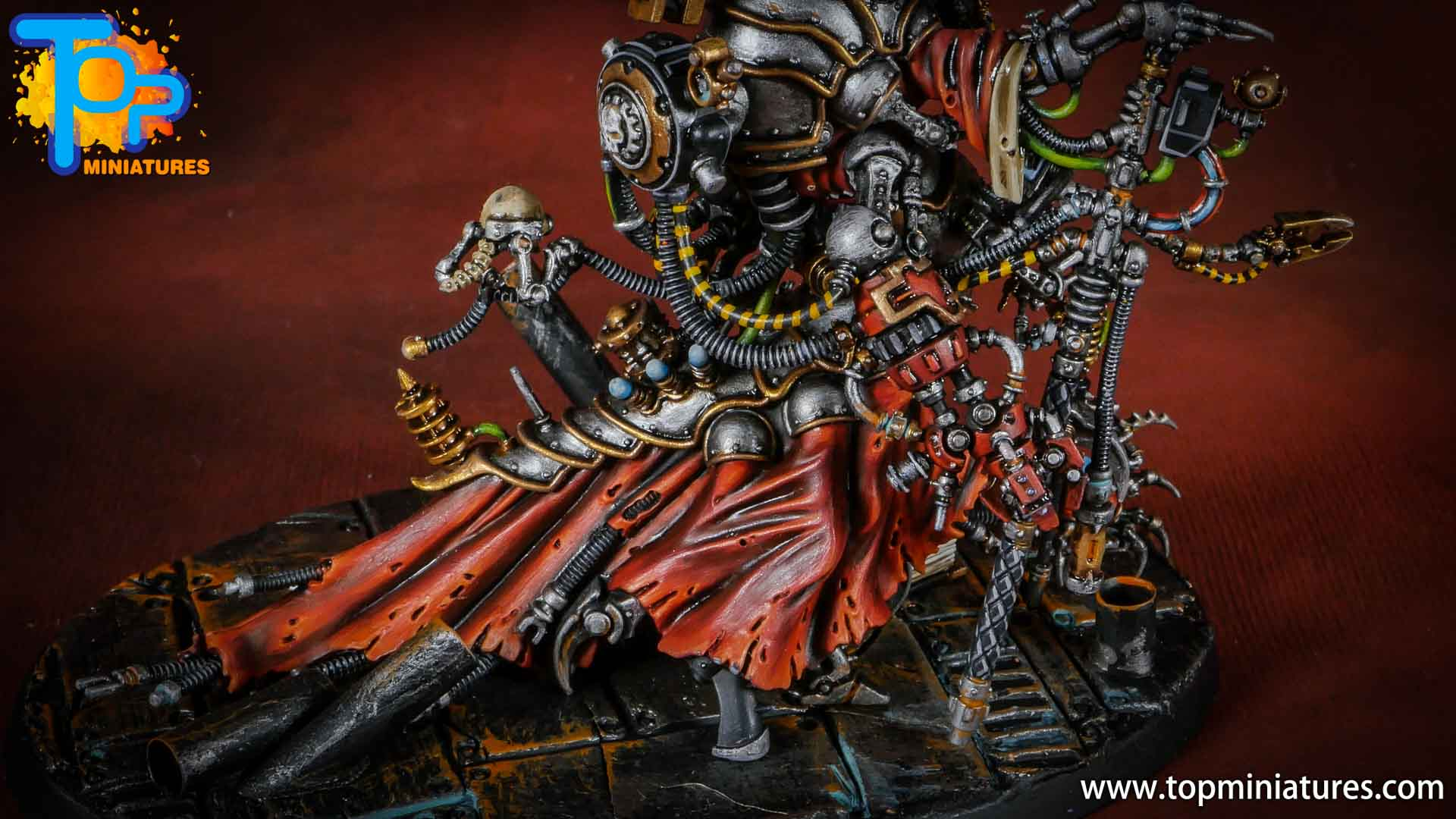 Warhammer Adeptus Mechanicus Belisarius cawl (6)