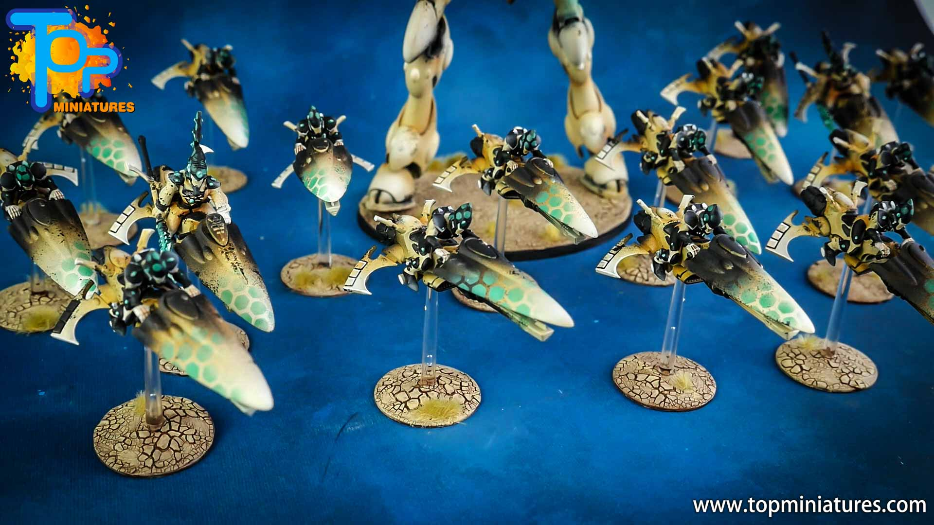 aeldari painted windrider jetbike (7)