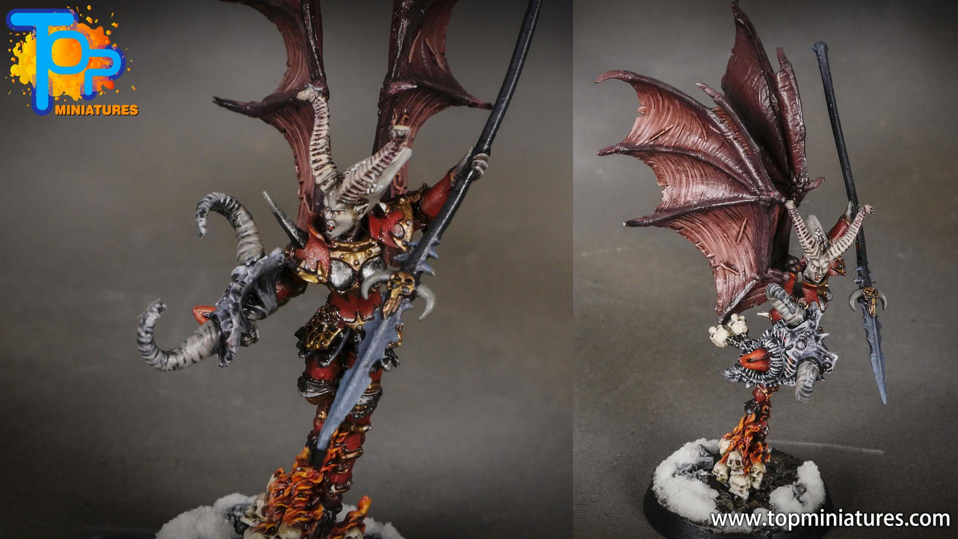 age of sigmar painted valkia the bloody (1)