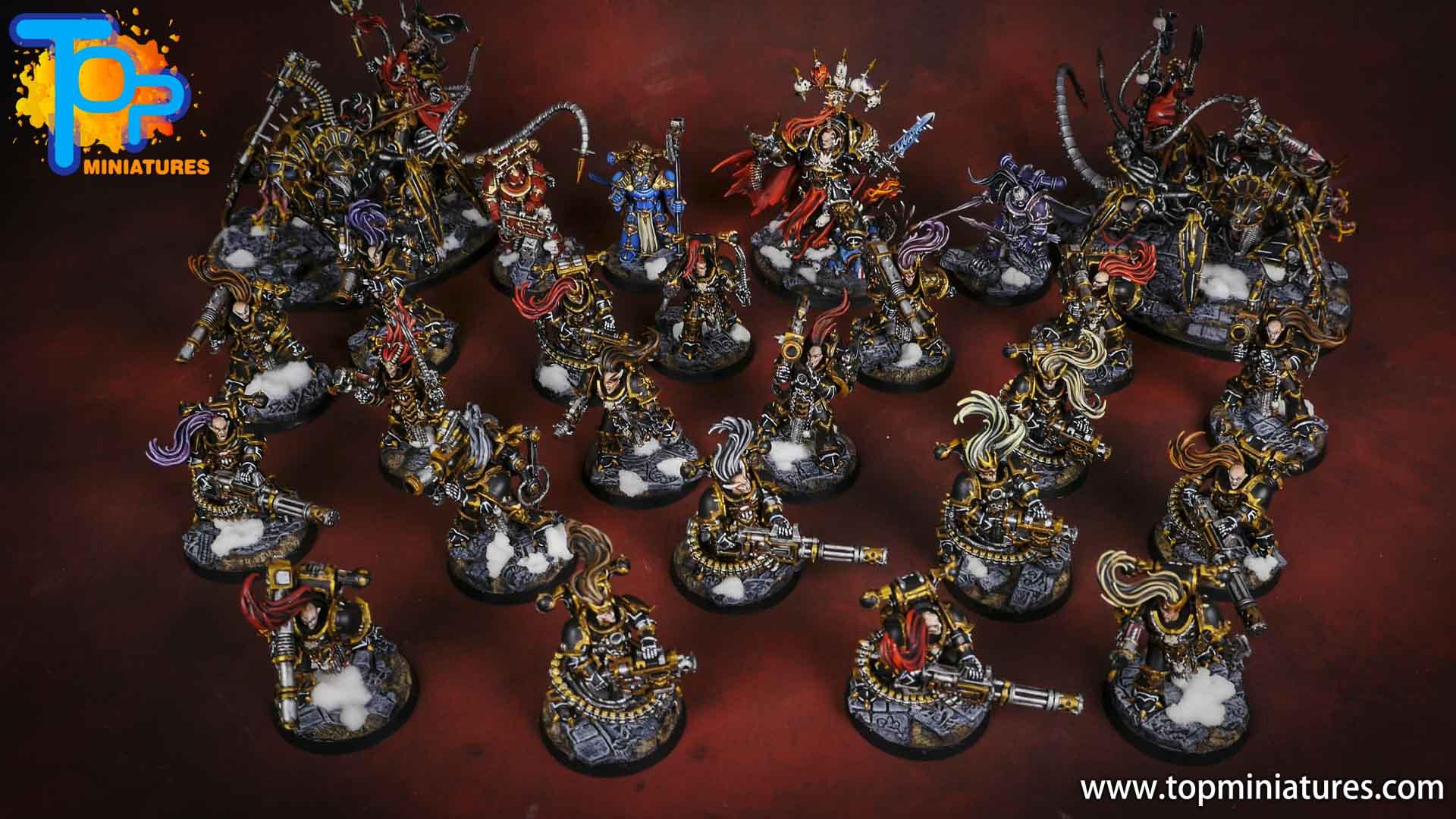 black legion painted army