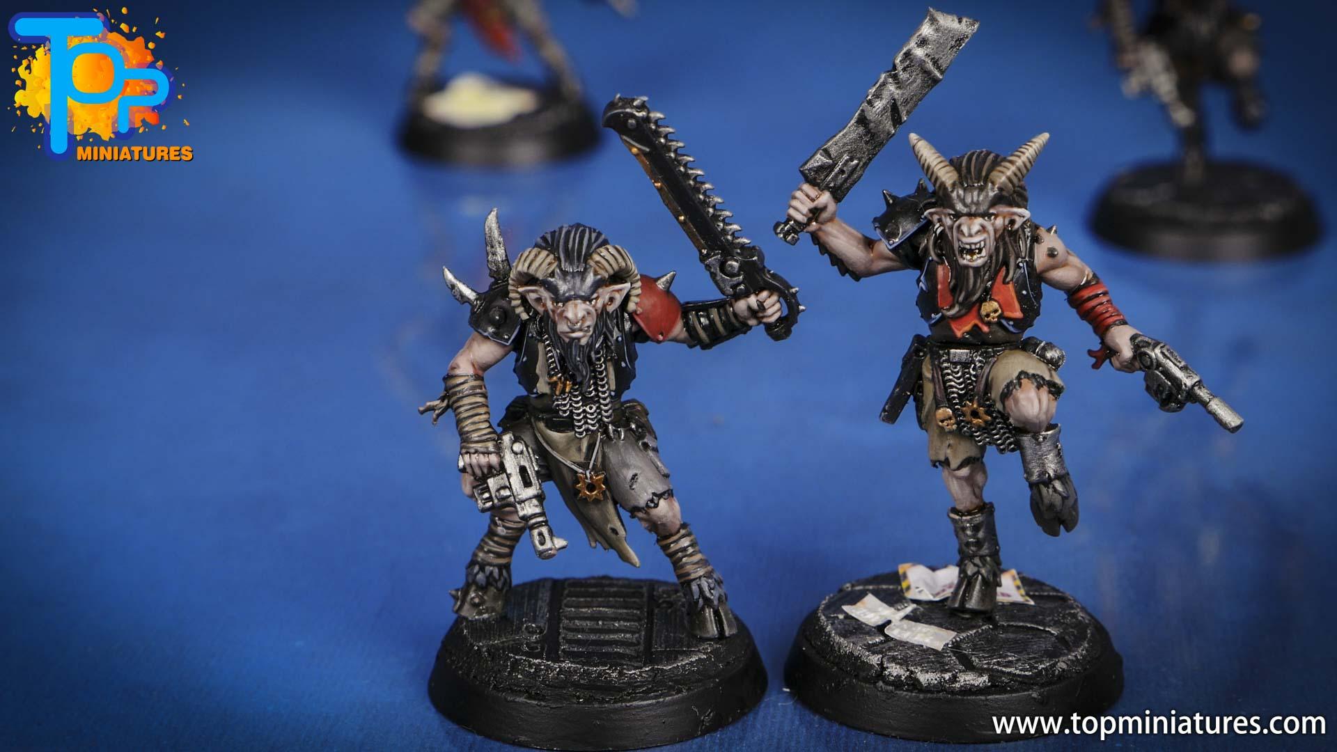 blackstone fortress painted chaos beastmen (1)