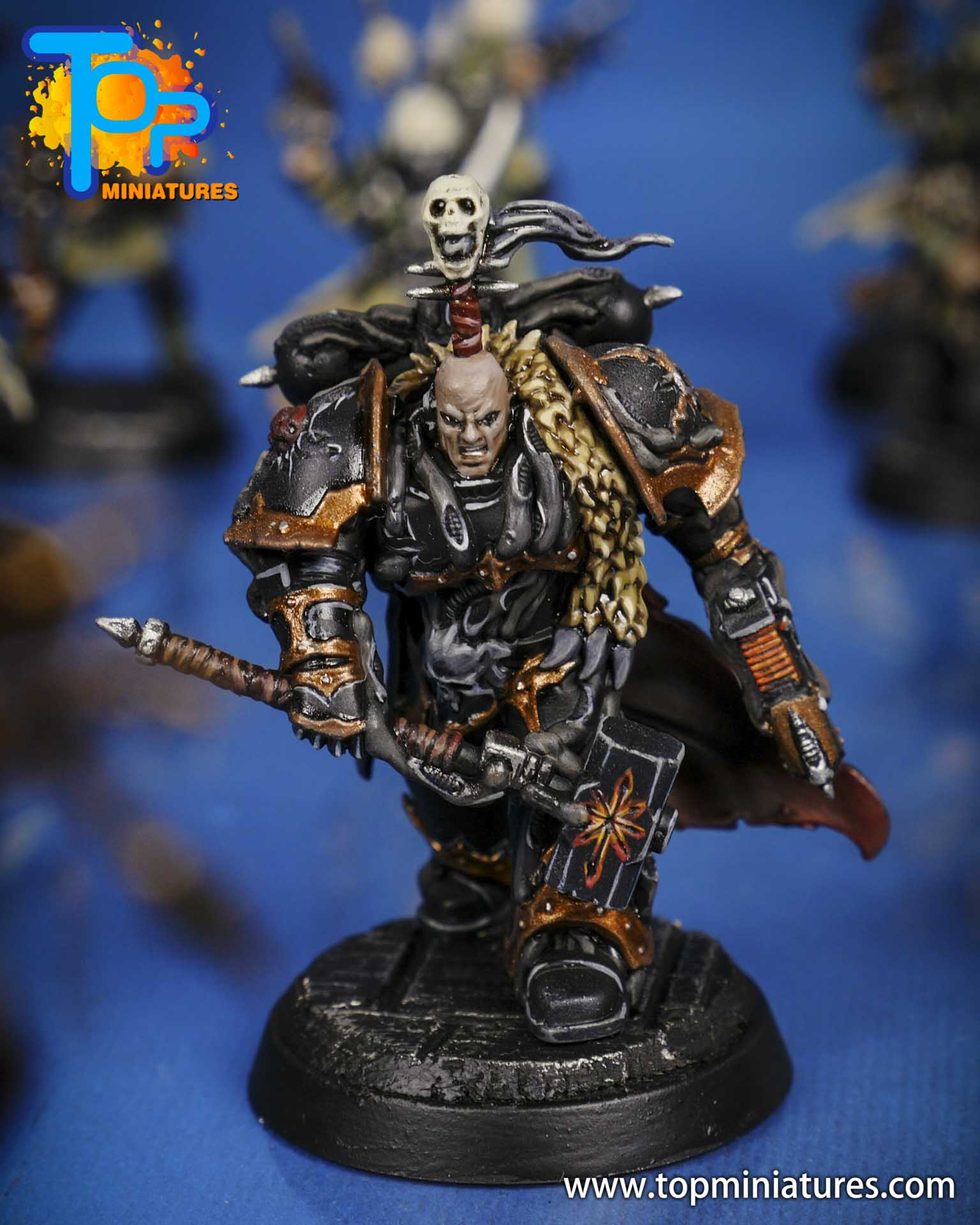 blackstone fortress painted chaos lord (1)
