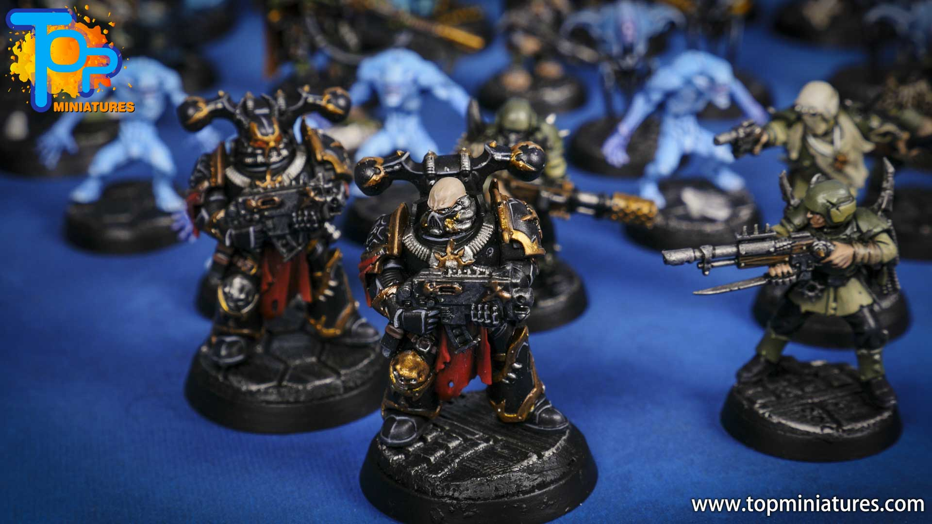 blackstone fortress painted chaos space marines (2)