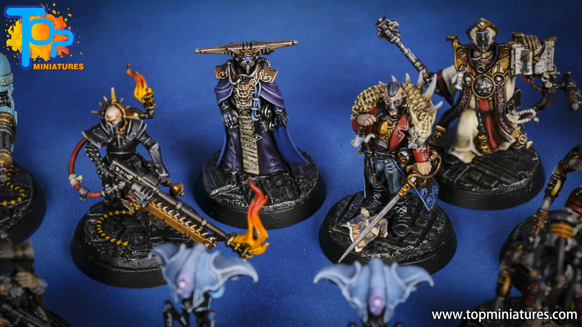 blackstone fortress painted miniatures (1)