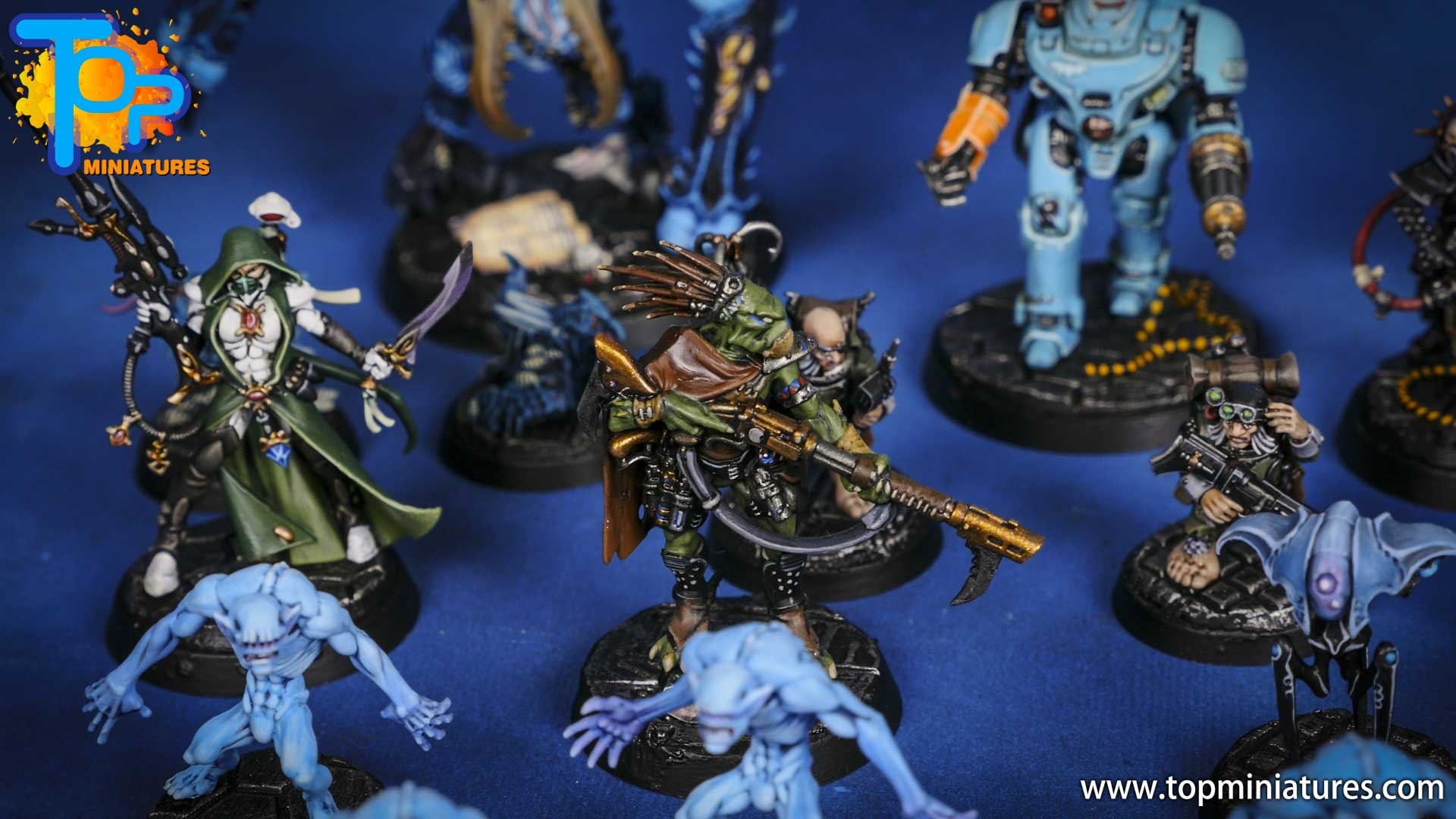 blackstone fortress painted miniatures (3)