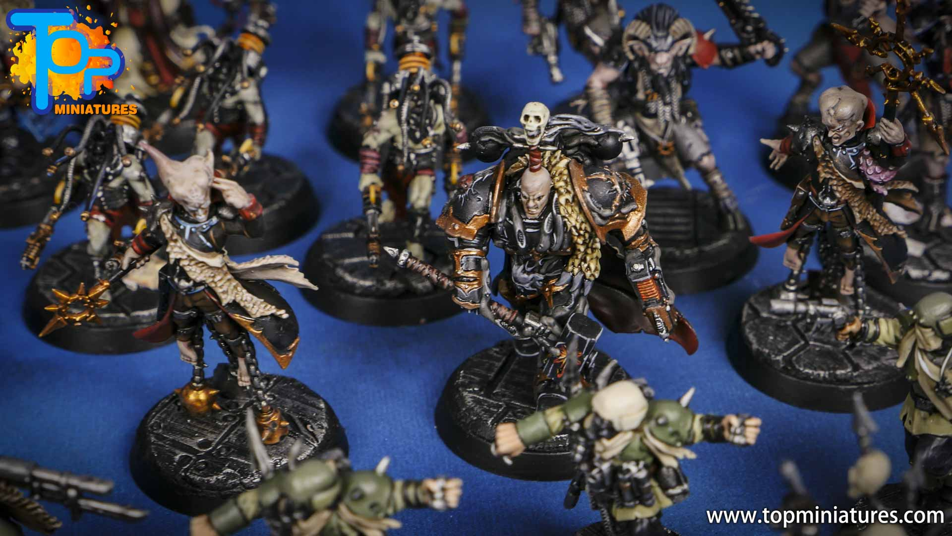 blackstone fortress painted miniatures (4)