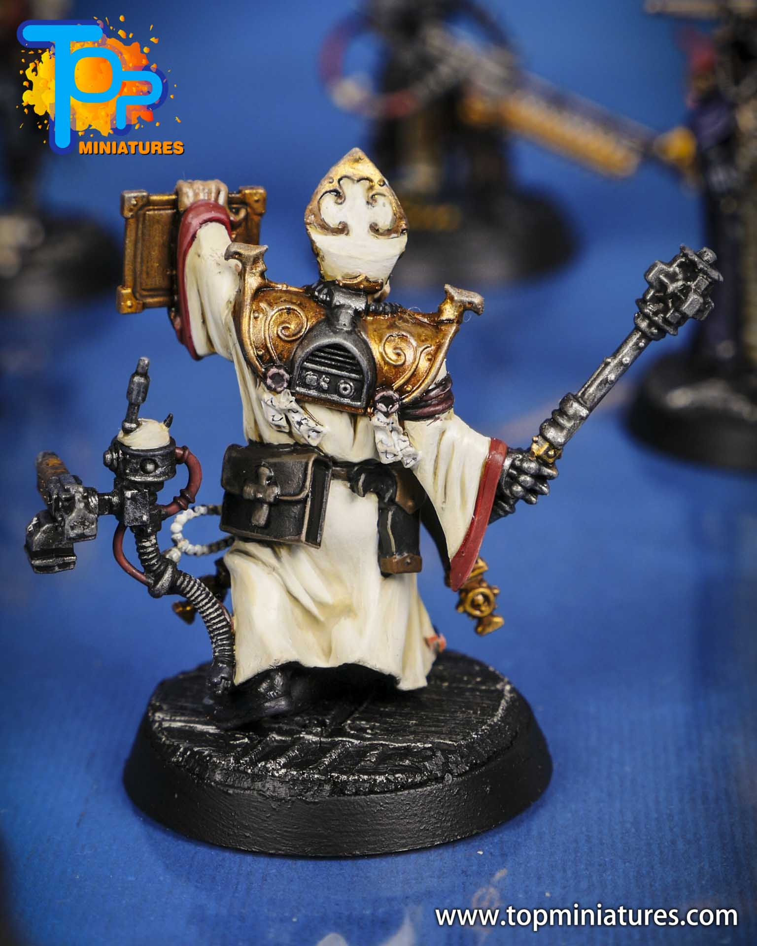 blackstone fortress painted taddeus the purifier (1)