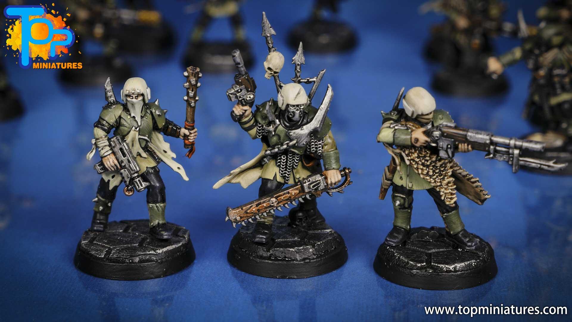 blackstone fortress painted traitor guard (4)