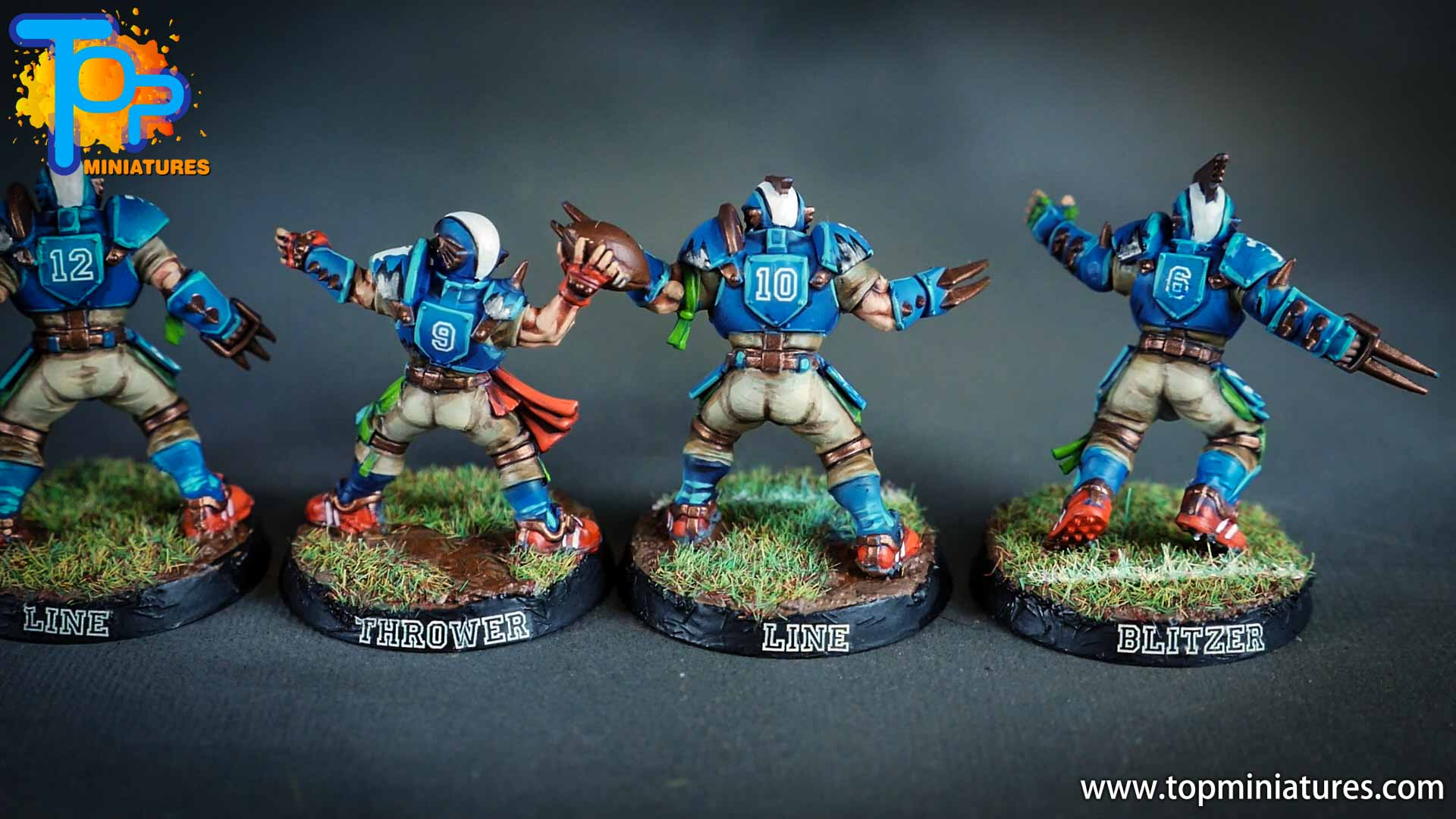 blood bowl painted reikland reavers (1)