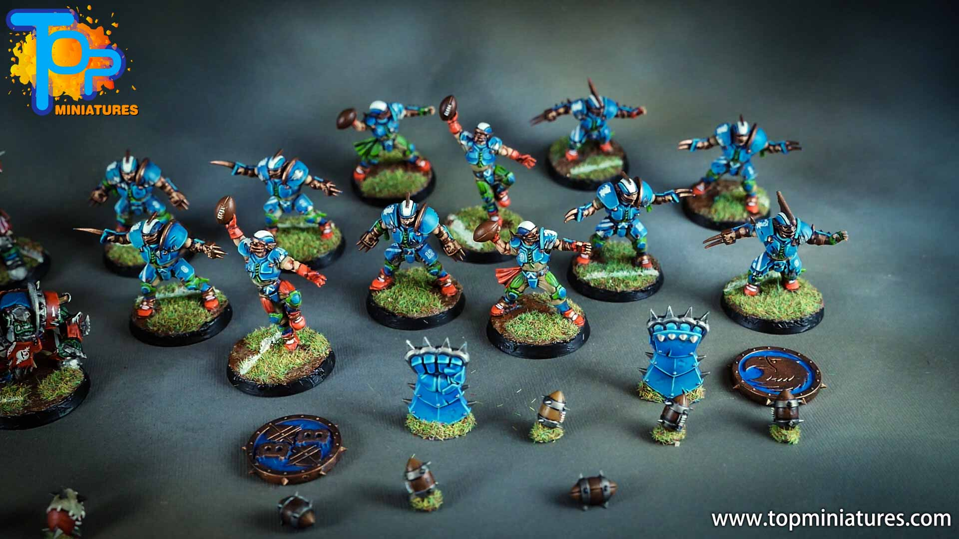 blood bowl painted reikland reavers (2)