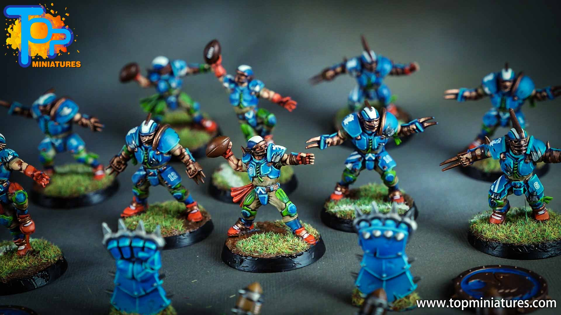 blood bowl painted reikland reavers (4)