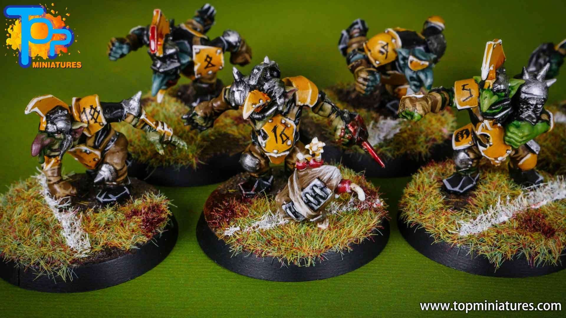 blood bowl painted scarcrag snivellers (1)