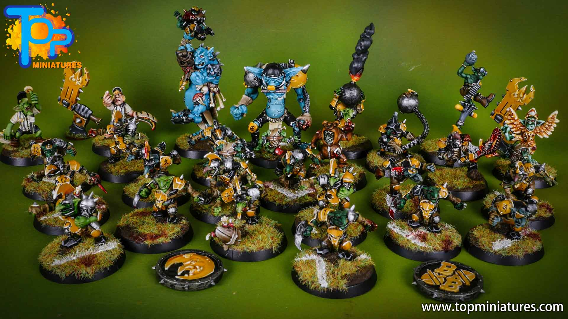 blood bowl painted scarcrag snivellers (2)
