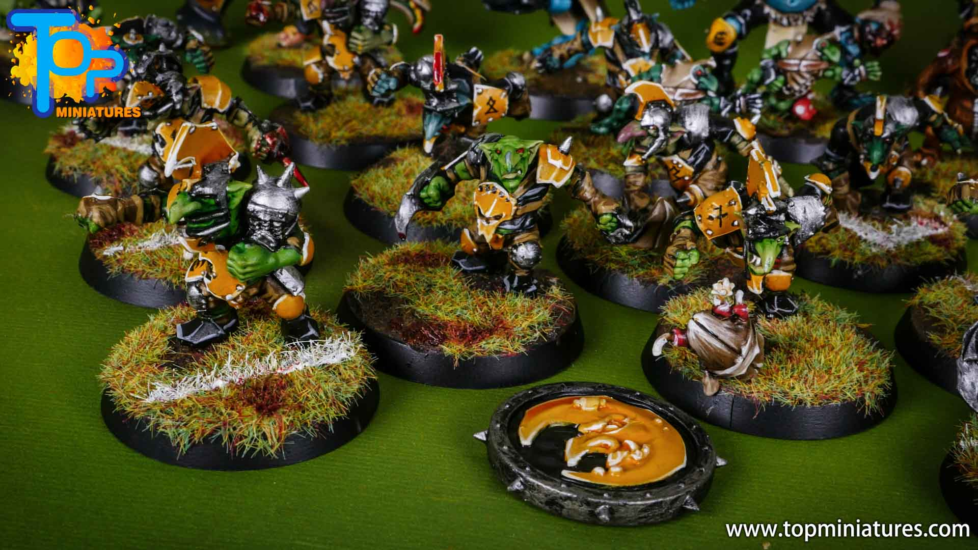 blood bowl painted scarcrag snivellers (4)
