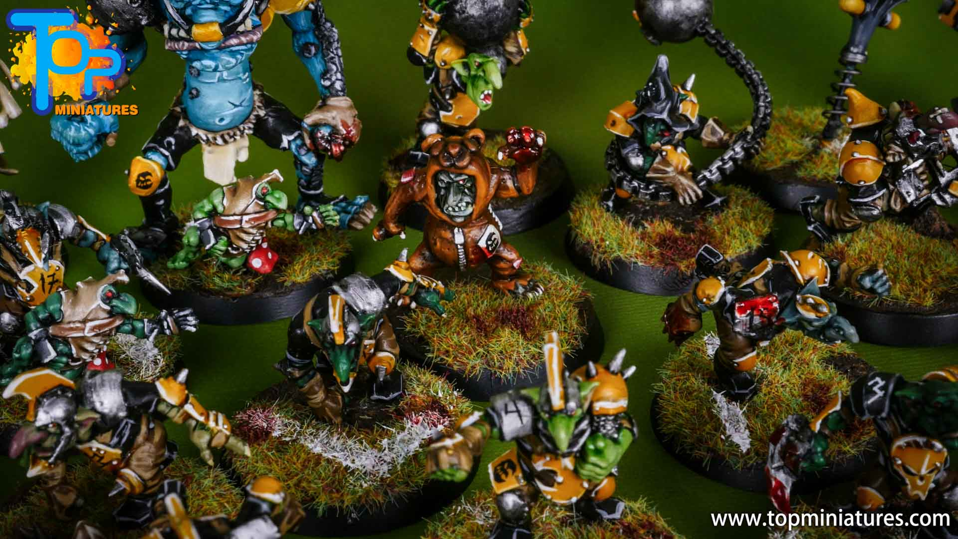 blood bowl painted scarcrag snivellers (5)
