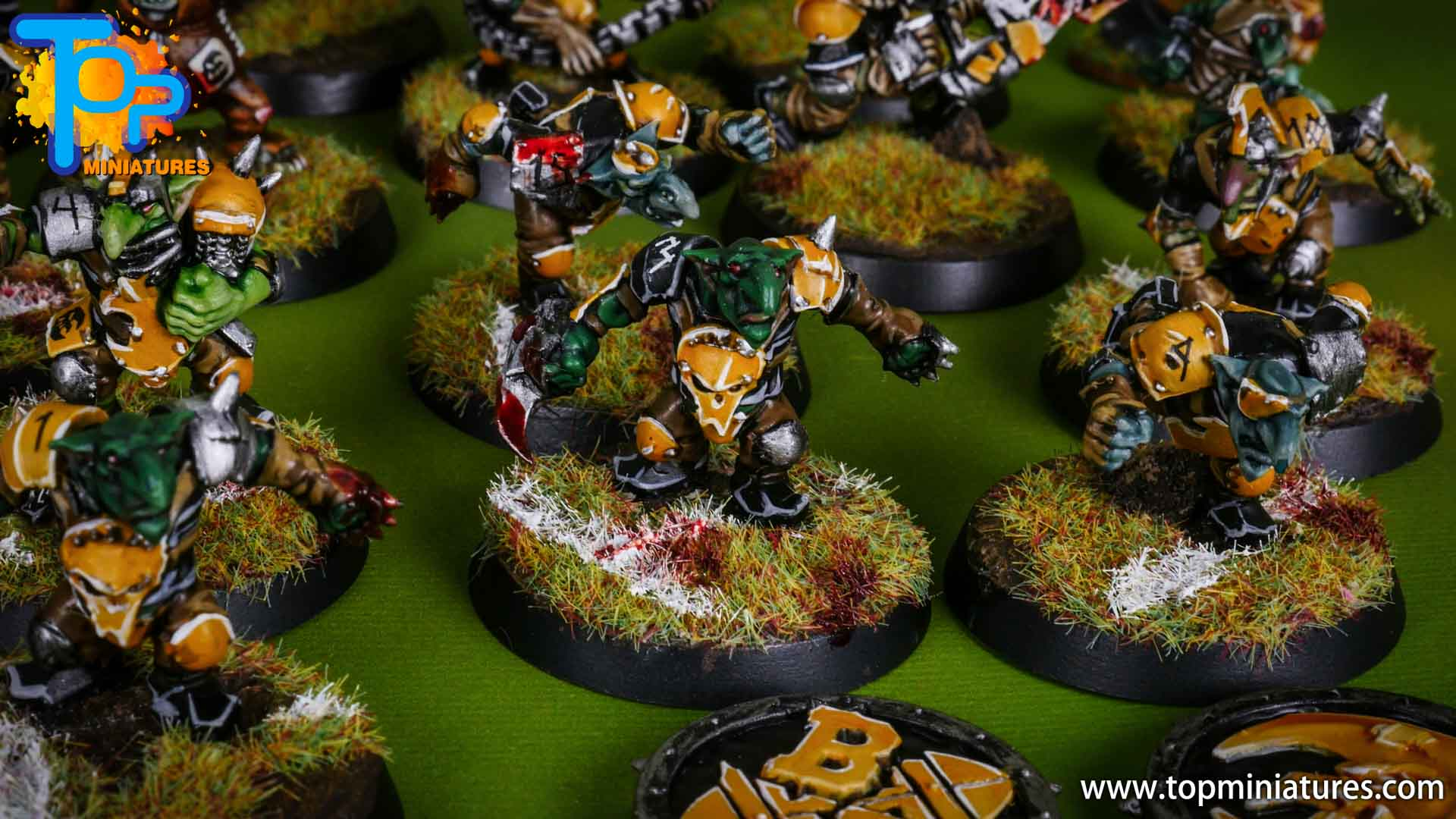 blood bowl painted scarcrag snivellers (6)