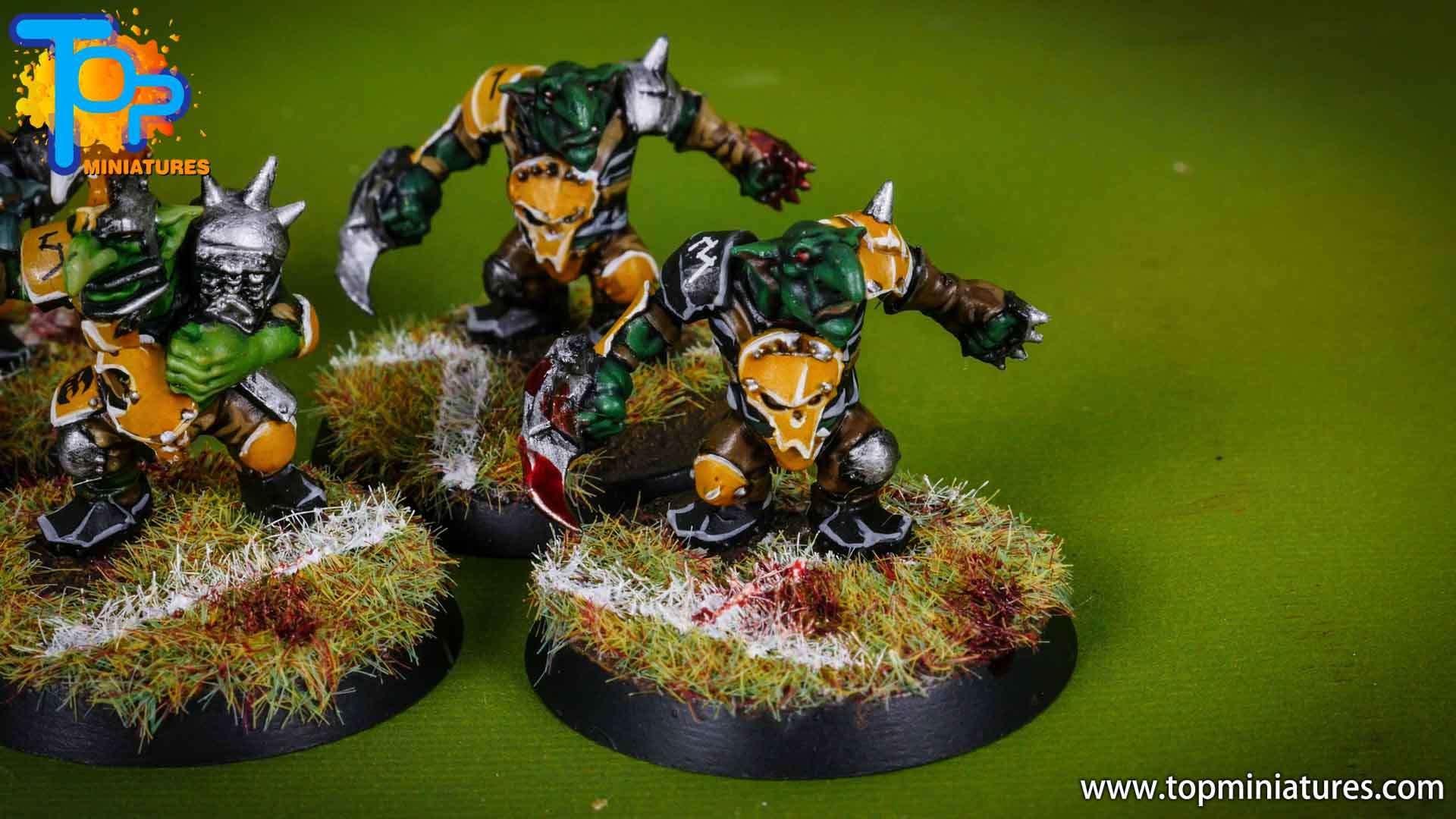 blood bowl painted scarcrag snivellers (7)