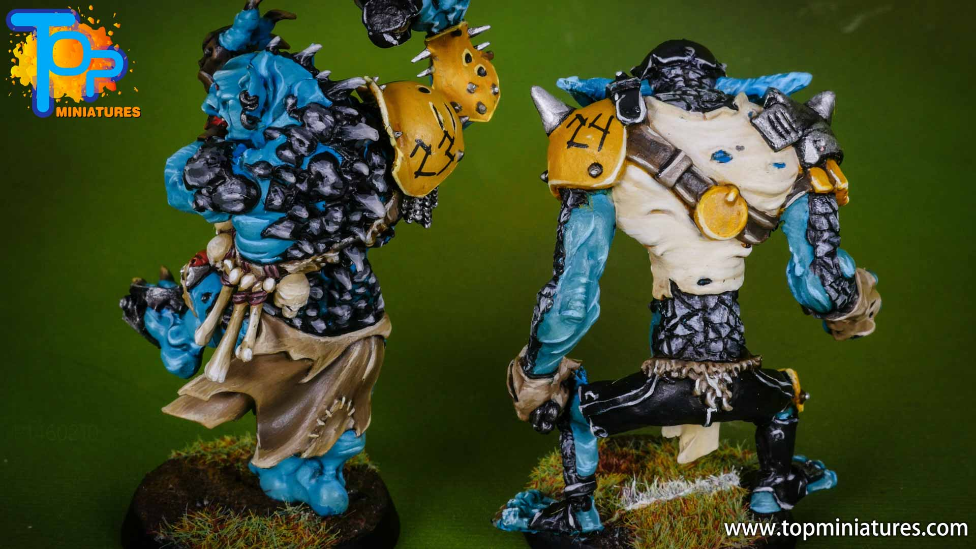 blood bowl willy miniatures river troll (1)