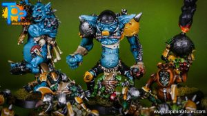 blood bowl willy miniatures river troll (2)