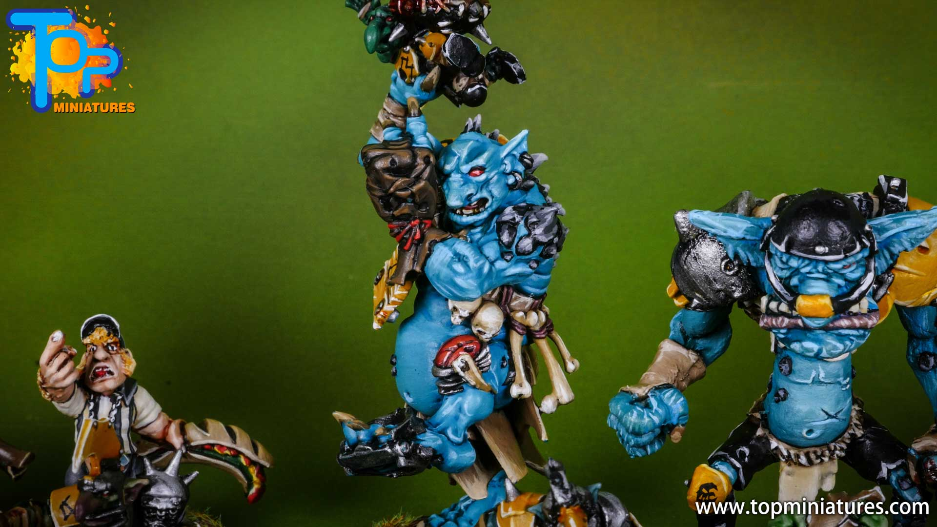 blood bowl willy miniatures river troll (3)