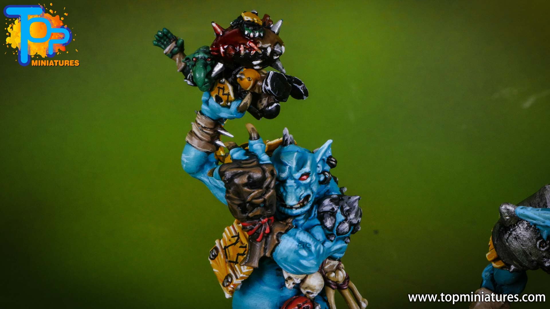 blood bowl willy miniatures river troll (4)