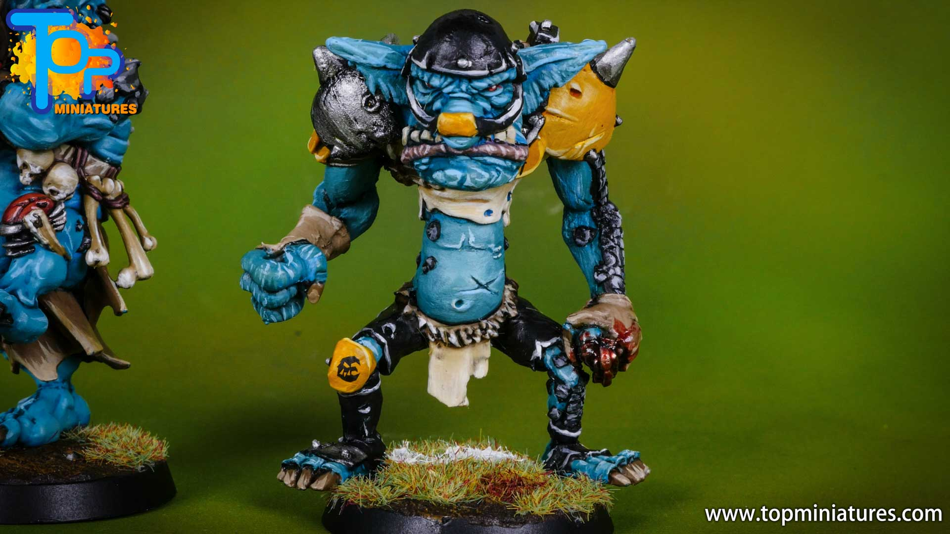 blood bowl willy miniatures river troll (5)
