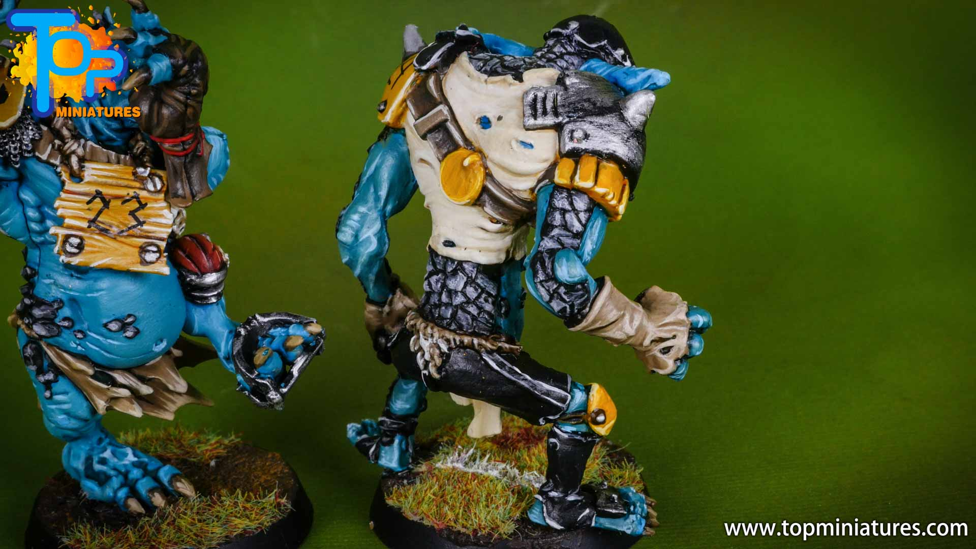 blood bowl willy miniatures river troll (6)