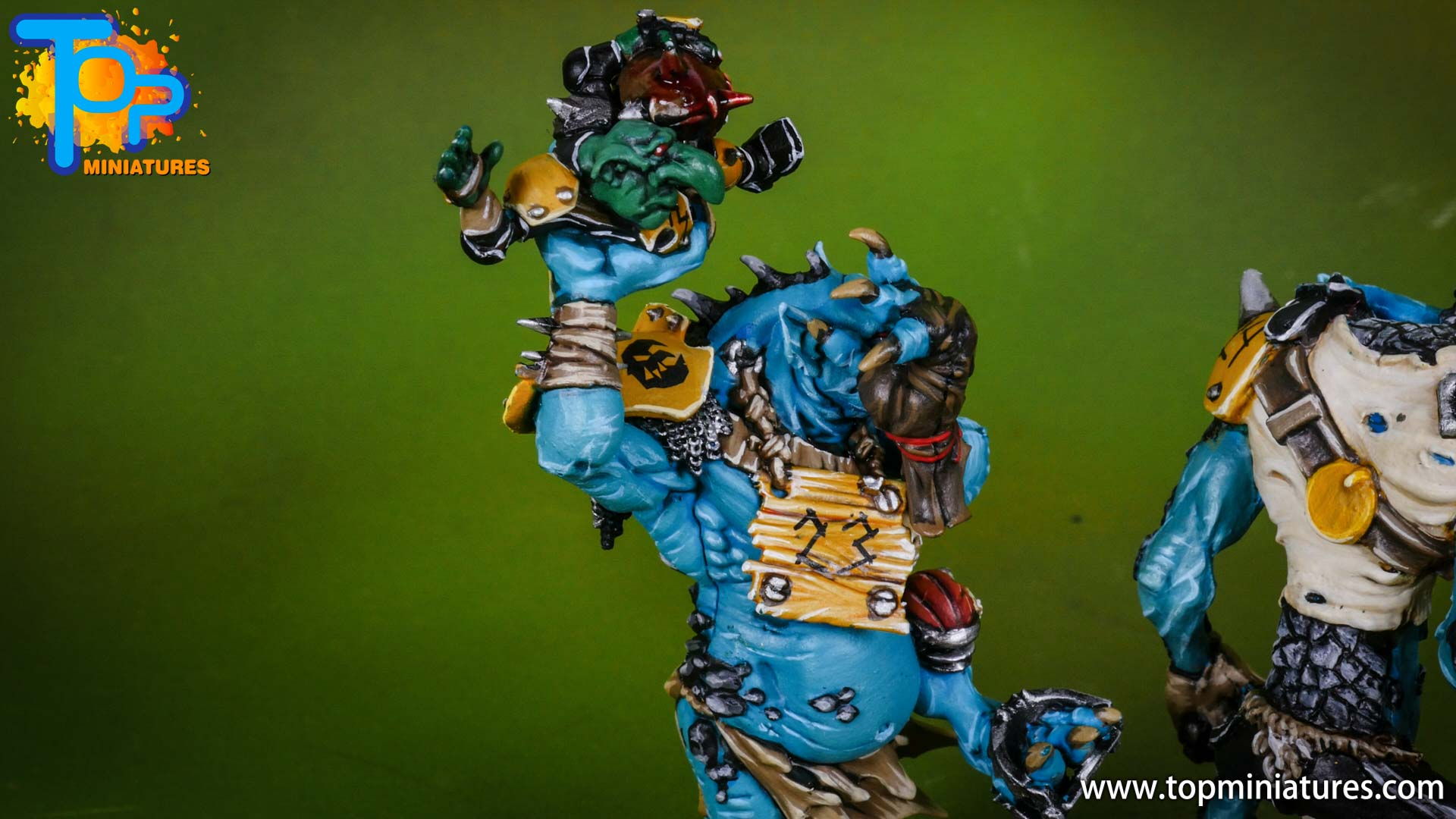 blood bowl willy miniatures river troll (7)