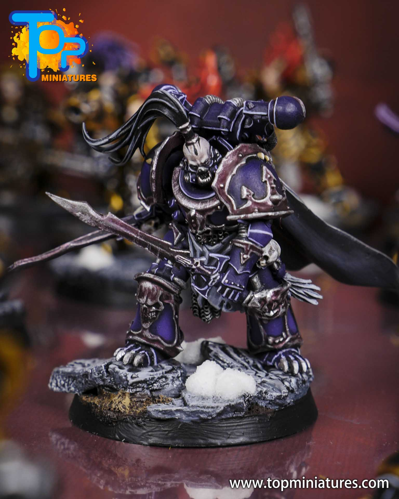 chaos space marines converted telemachon lyras (2)