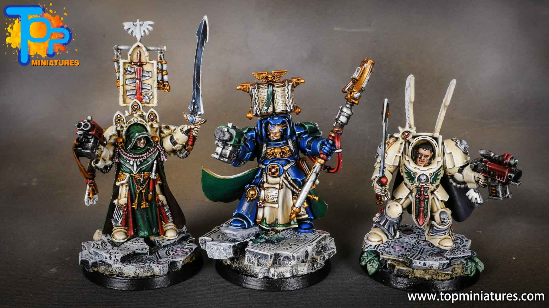 dark angels deathwing belial & librarian