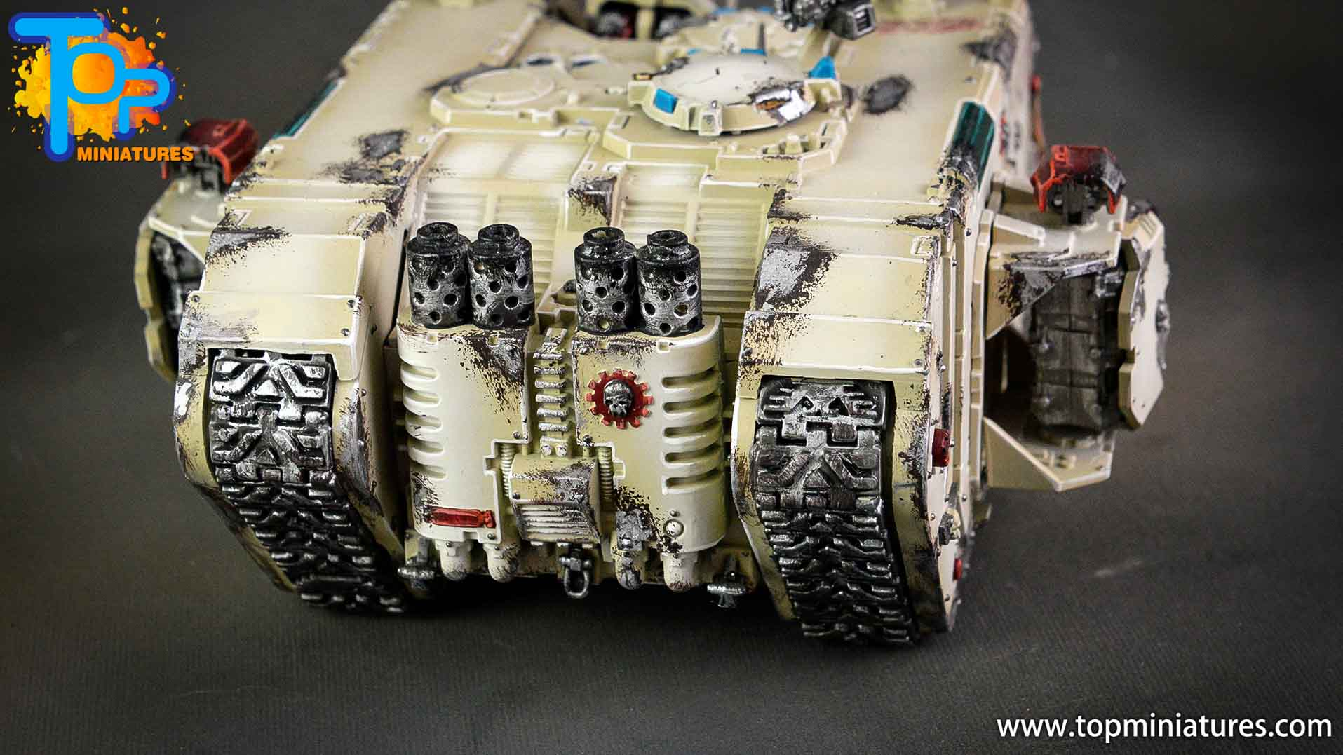dark angels deathwing land raider (10)