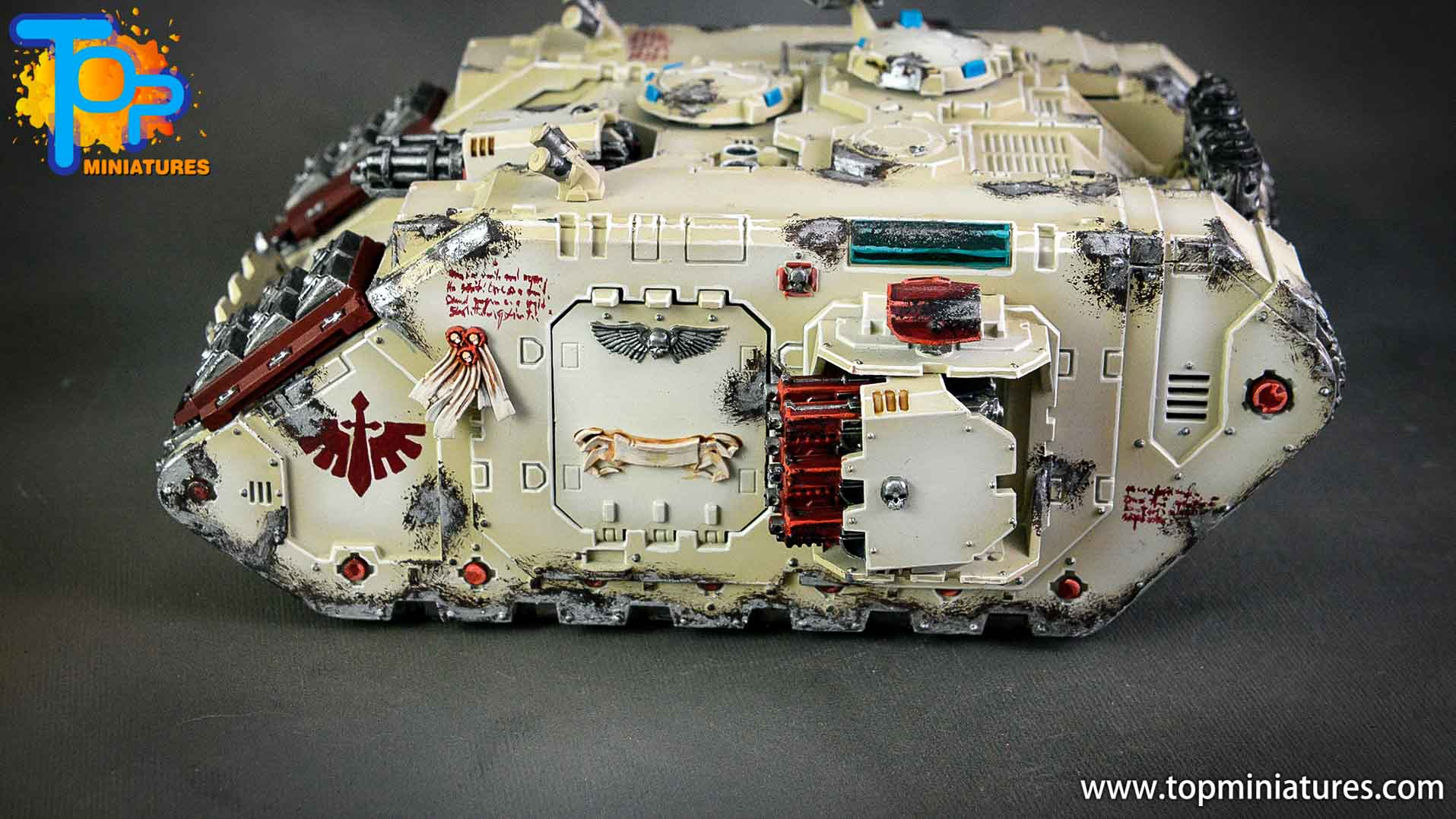 dark angels deathwing land raider (11)