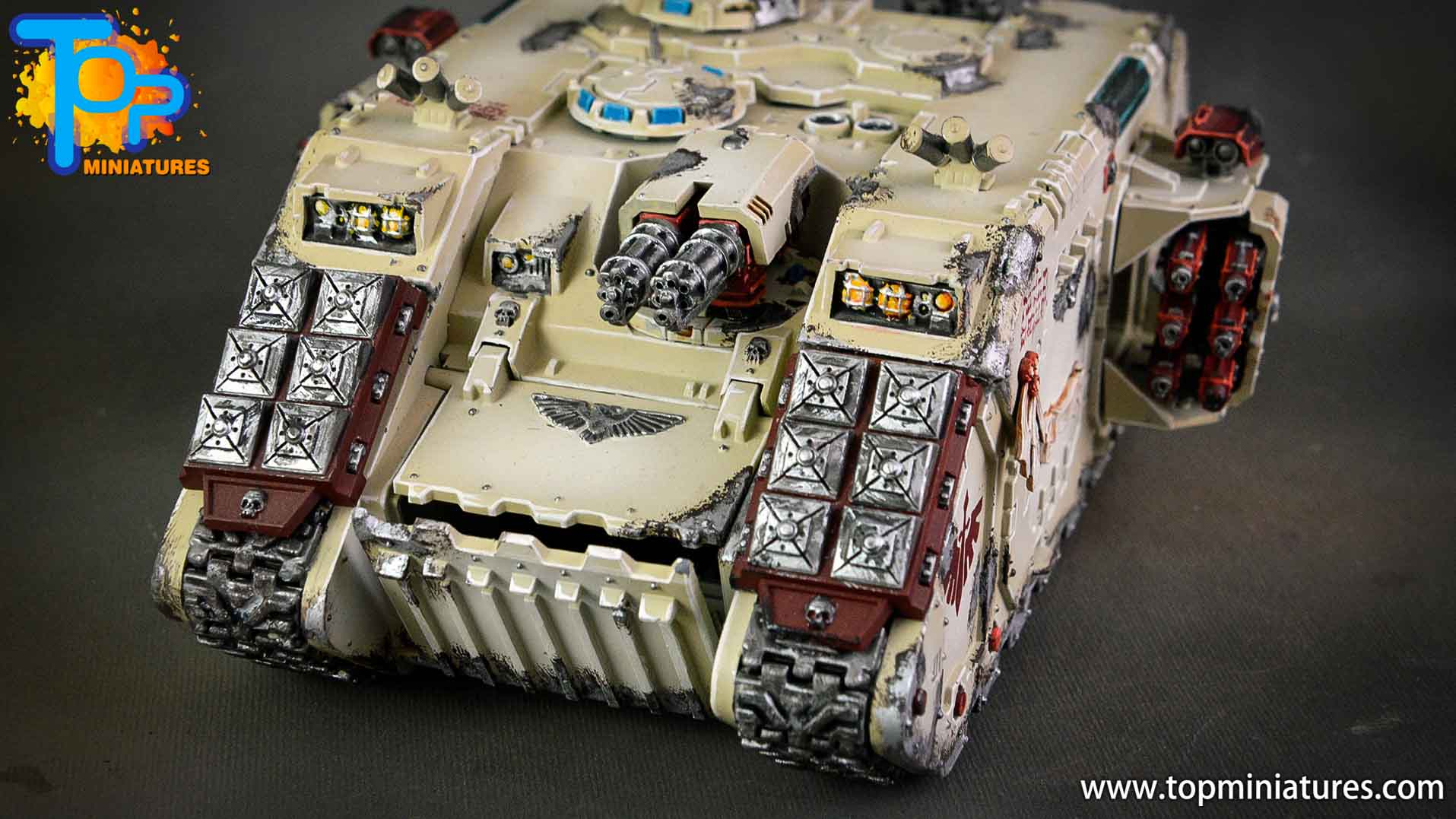 dark angels deathwing land raider (12)