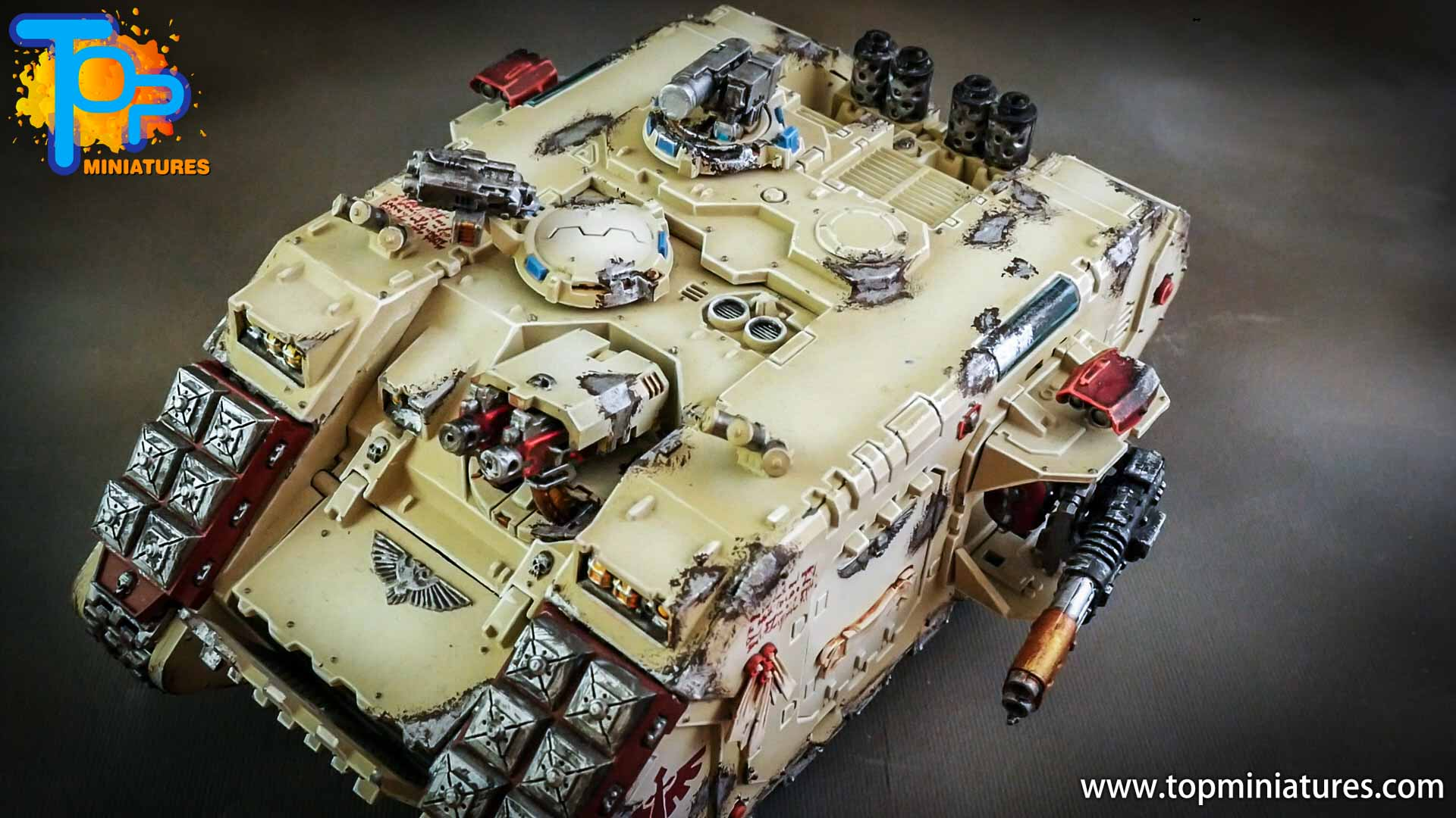 dark angels deathwing land raider (7)