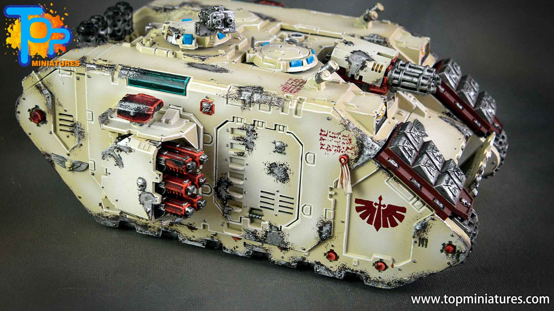 dark angels deathwing land raider (8)