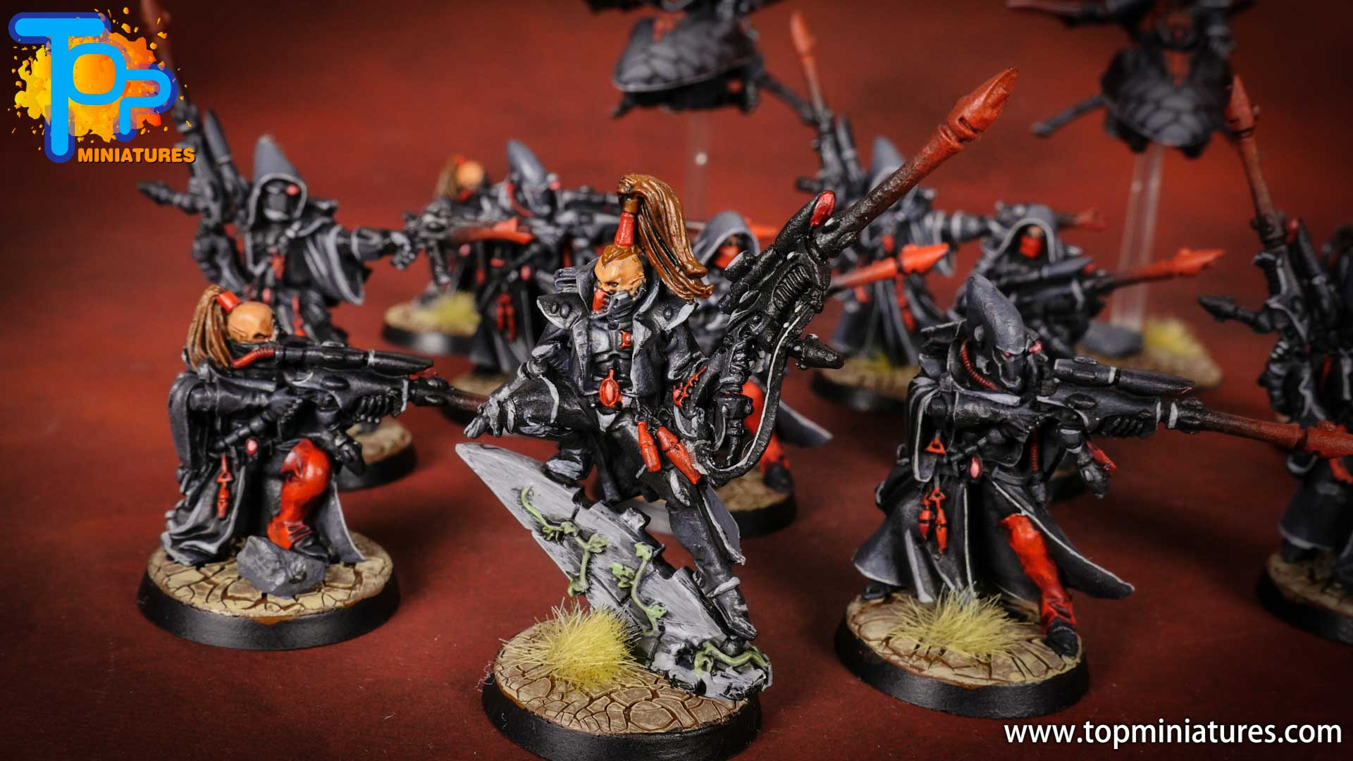 eldar painted Illic nightspear