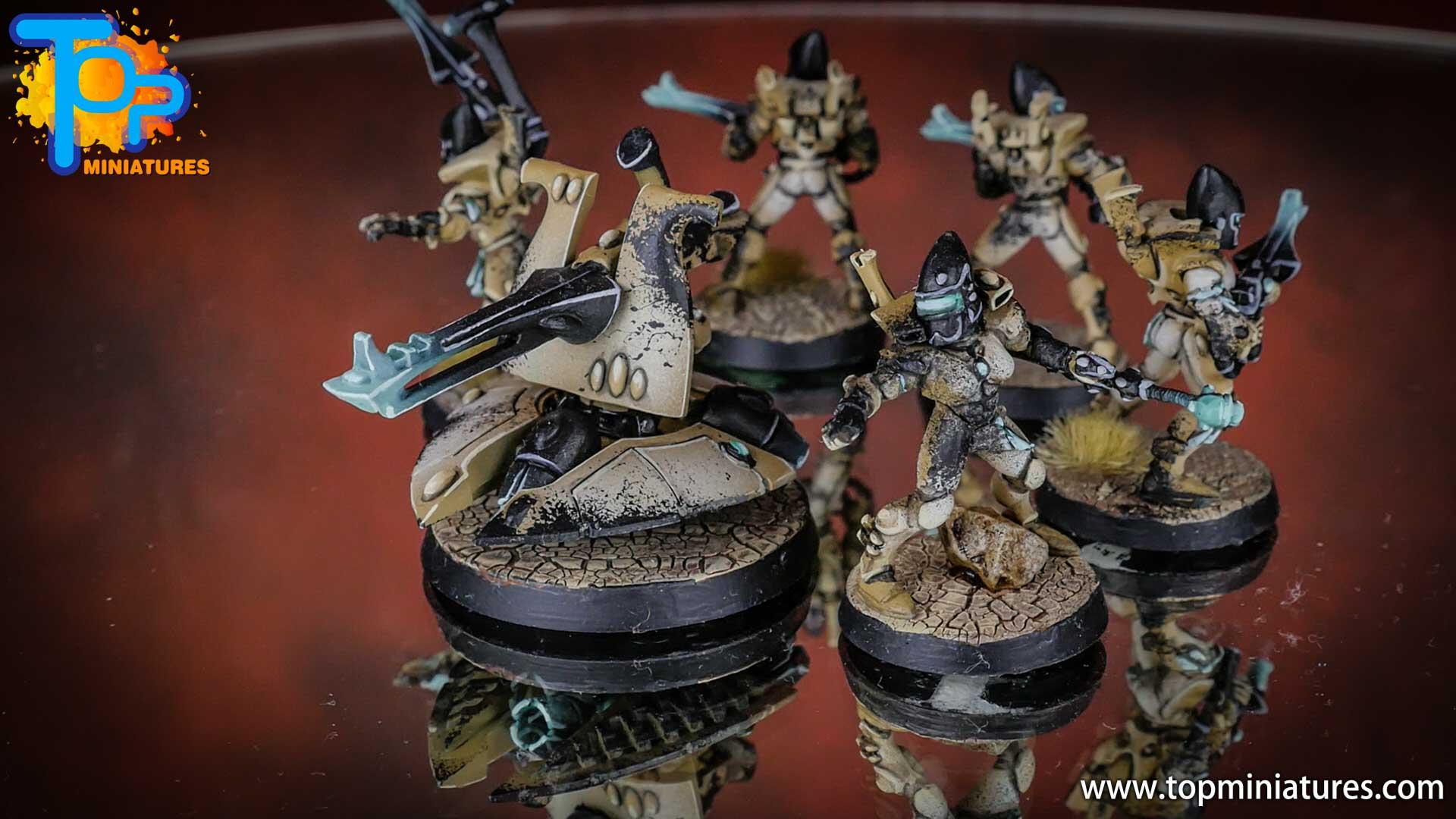 eldar painted guardians shuriken cannon (1)