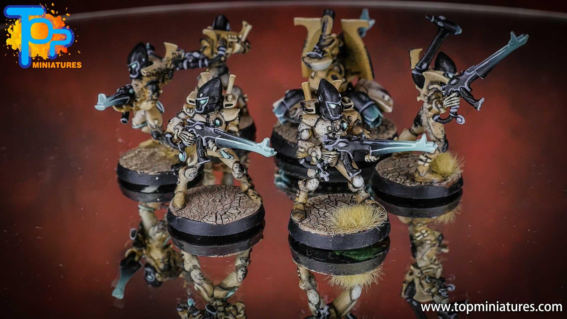 eldar painted guardians shuriken cannon (2)
