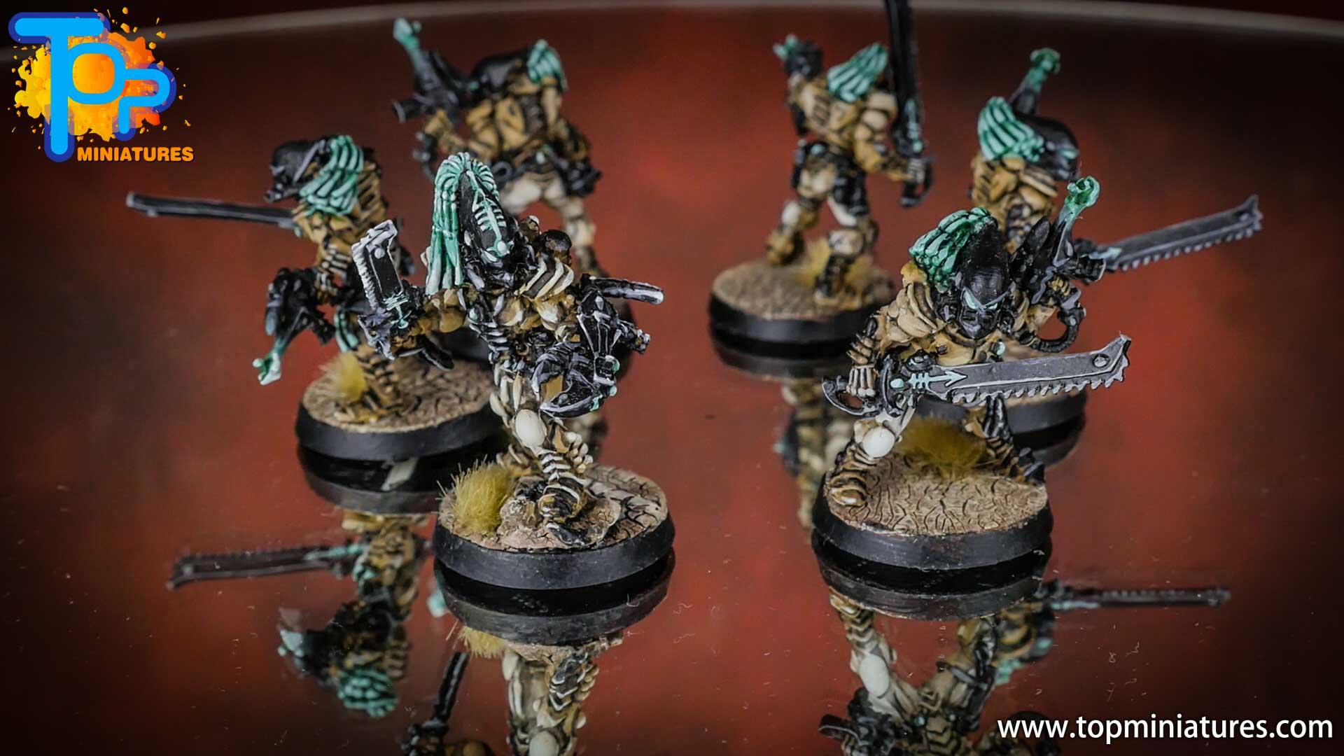 eldar painted striking scorpions (2)