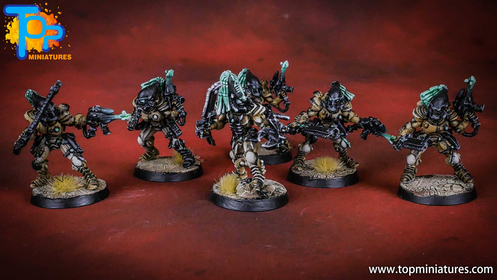 eldar painted striking scorpions