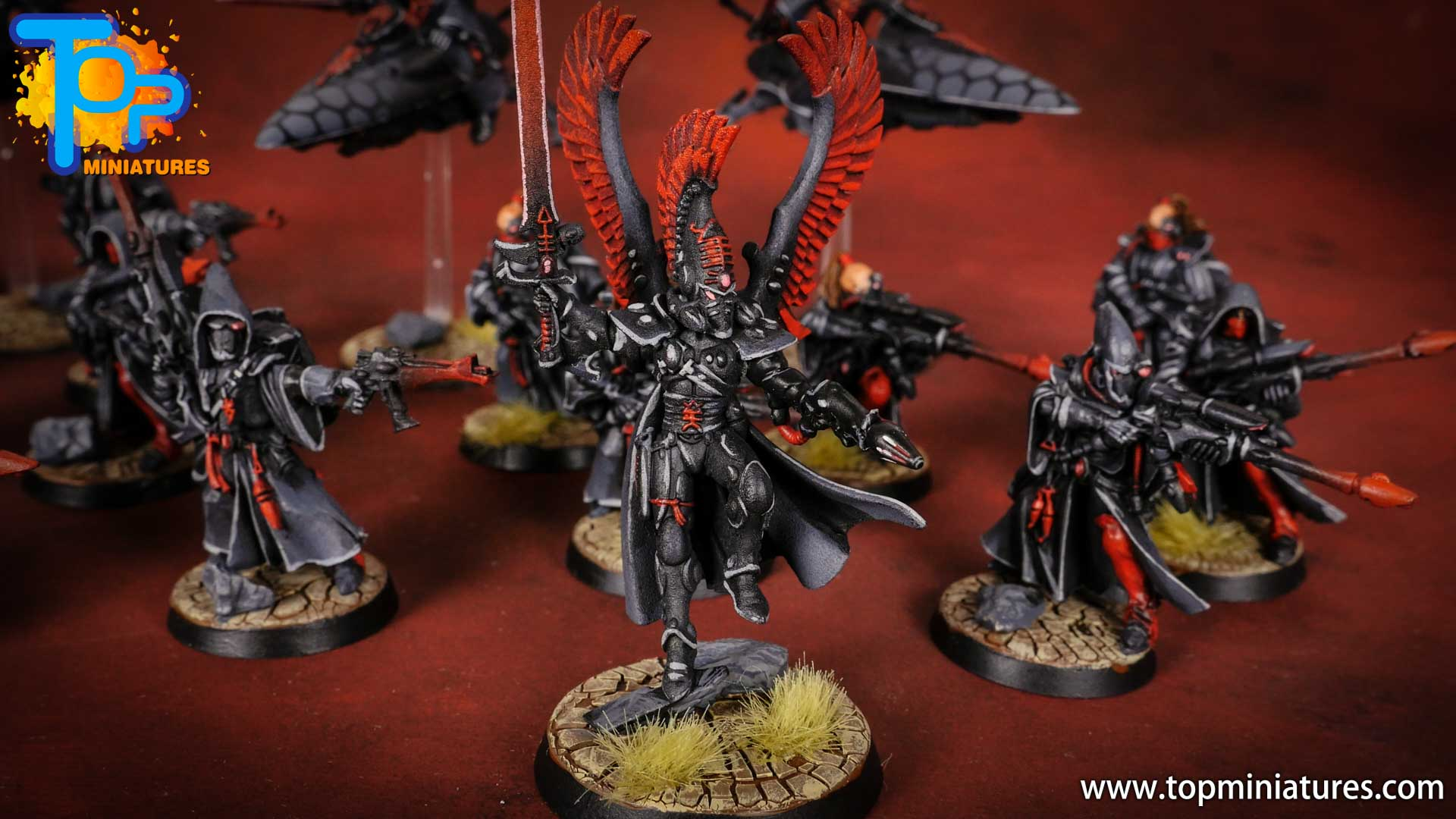 eldar red & black autarch (2)