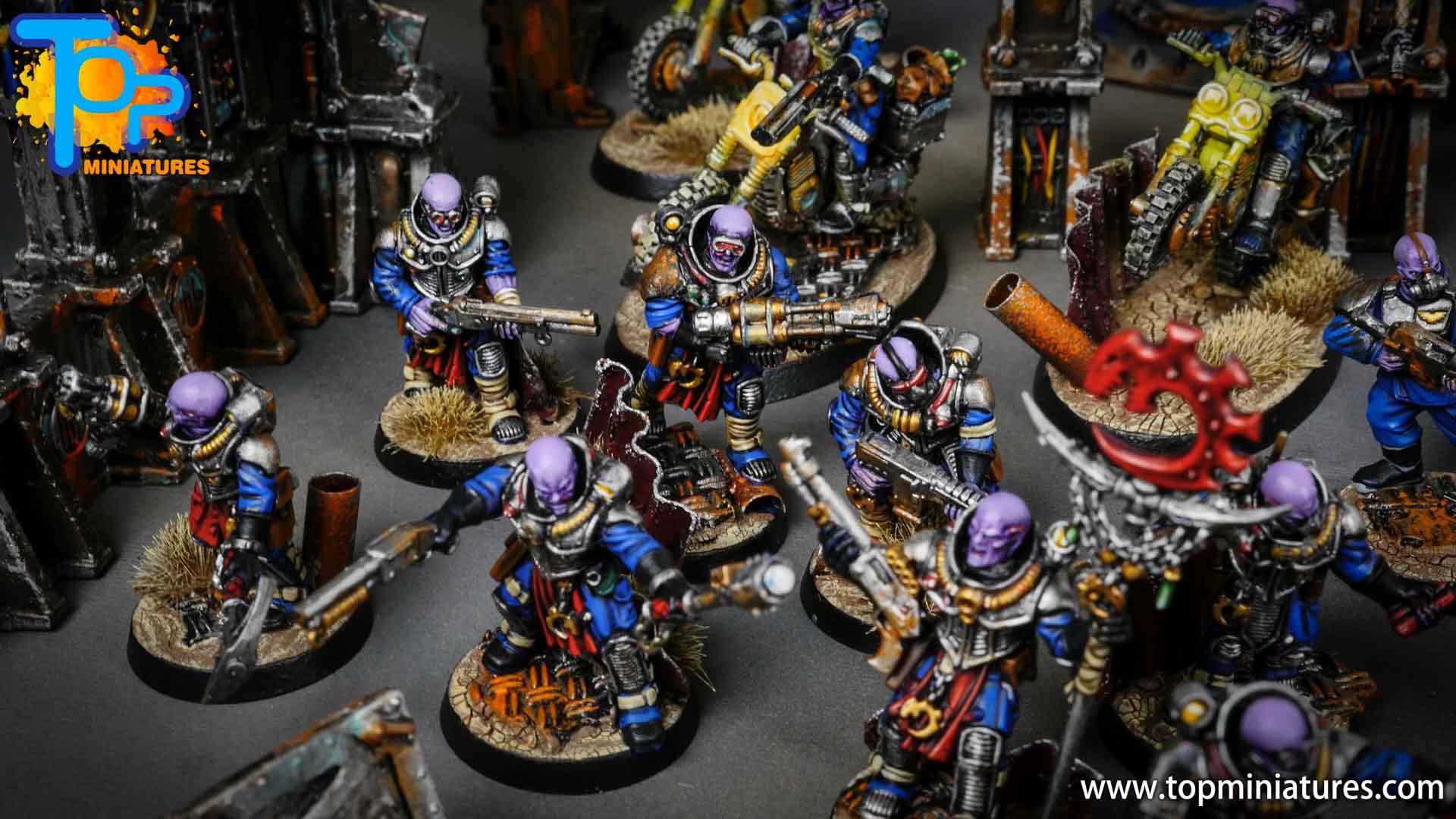 genestealer cults huge painted army (10)