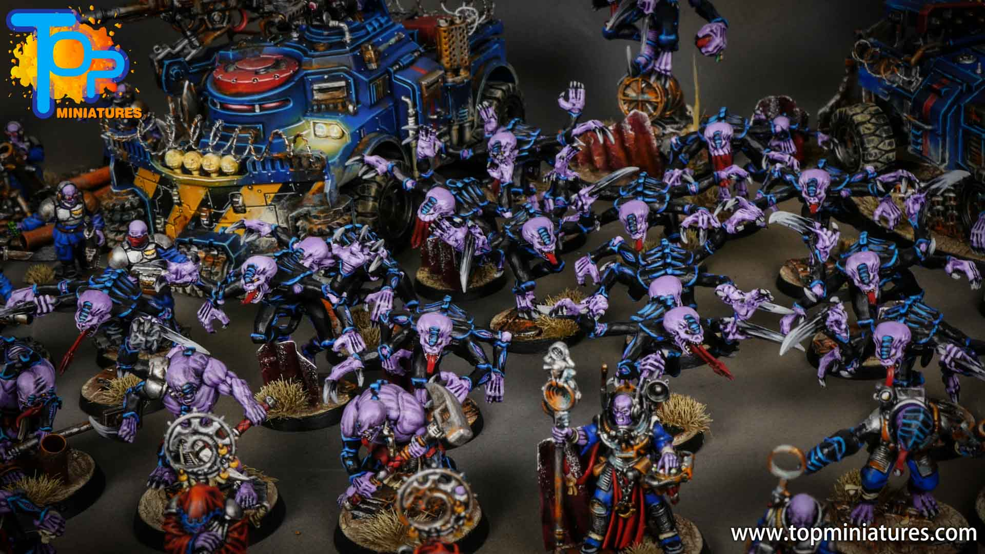 genestealer cults huge painted army (14)