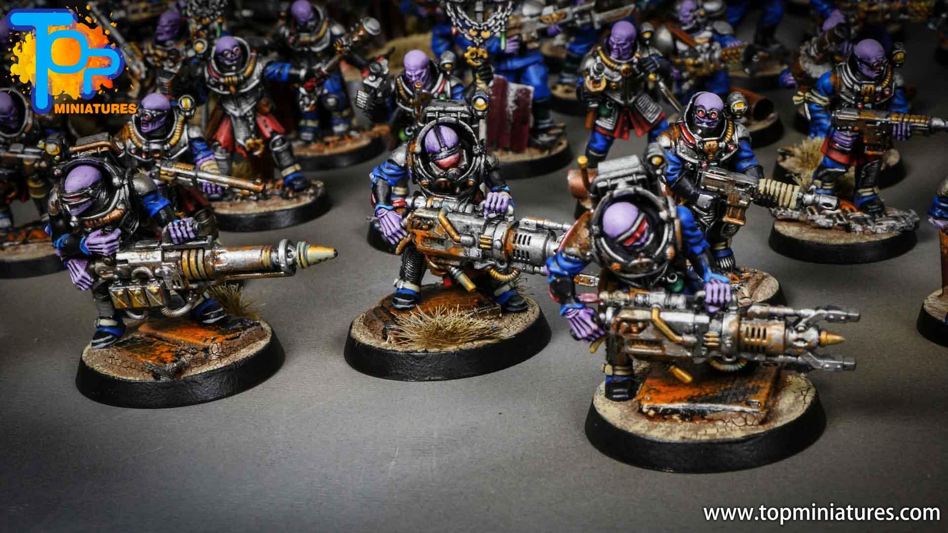 genestealer cults huge painted army (16)